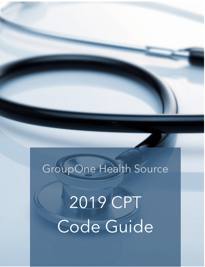 2019 CPT Code Guide