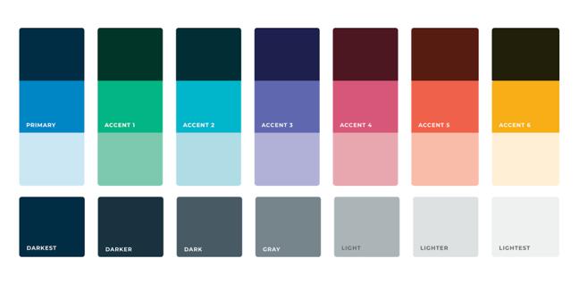 Revele Logo Colors