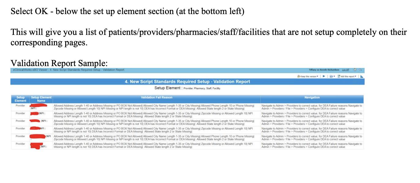 Script Standard Validation Report2