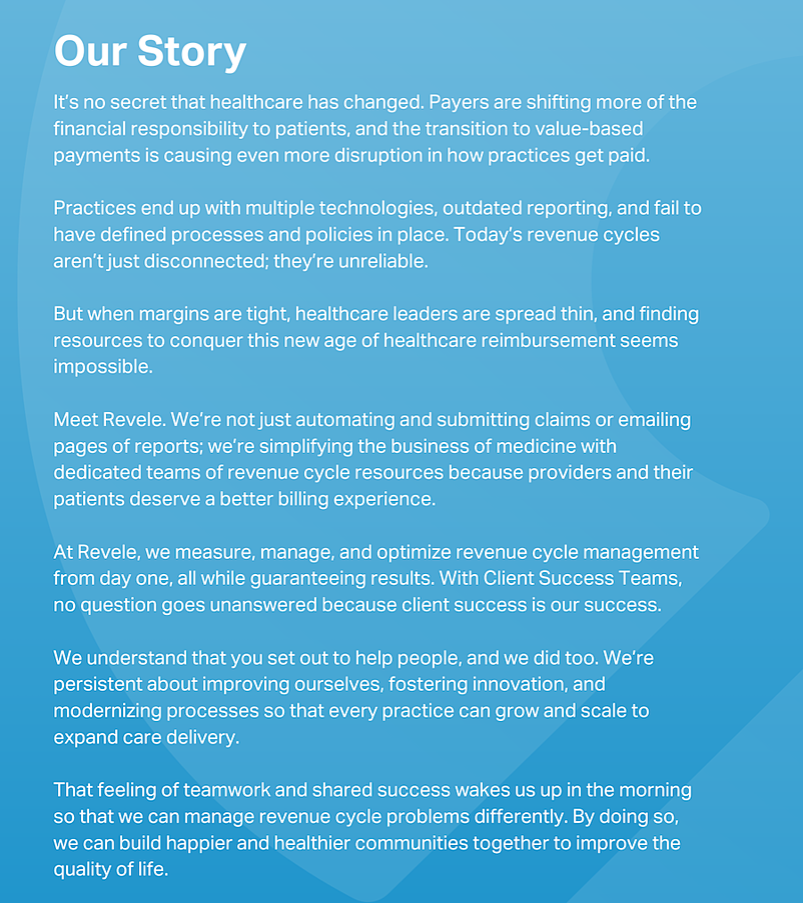 The Revele Brand Story