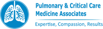 pulminary critical care- medicine associates logo