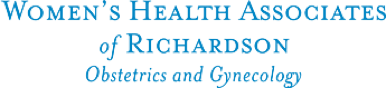 womens health associates of richardson logo