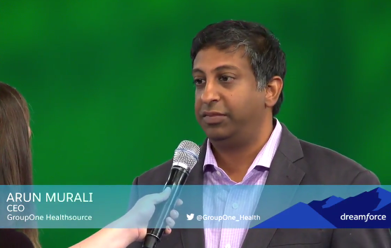 Interview with GroupOne CEO Arun Murali: How Salesforce is Helping Leading RCM Company Put Customers First
