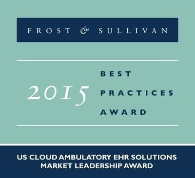 Frost & Sullivan Recognizes eClinicalWorks' Cloud-based EHR for Highest Market Share