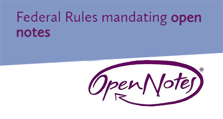 Federal Rules Mandating Open Notes - Explanatory Article and Video